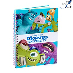 Monsters University A4 Note Book