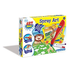 Art Attack Spray Art Set