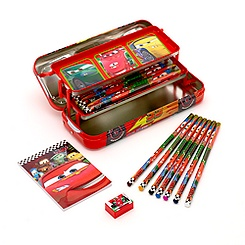 Lighting McQueen Car Pencil Tin Stationery Set