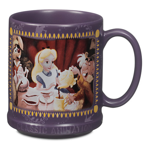 Disney classic animation collection mug alice in wonderland mugs disney - Mug alice au pays des merveilles ...