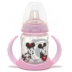 NUK Baby Girls Learner Bottle 6-18 Months