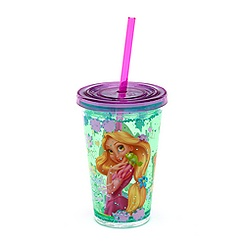 Rapunzel Waterfill Tumbler With Straw