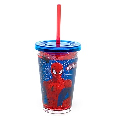 Spider-Man Waterfill Tumbler With Straw