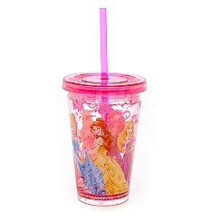Disney Princess Waterfill Tumbler With Straw