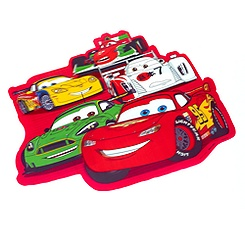 Cars 3D Place Mat