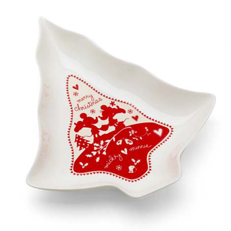 Tree Shaped Christmas Serving Dish
