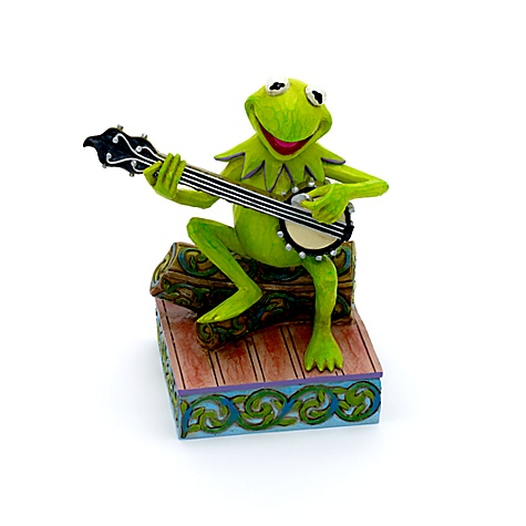 Jim Shore Disney Traditions Kermit Find Your Rainbow Figurine
