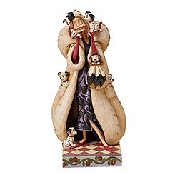 Jim Shore Disney Traditions Cruella de Vil Figurine