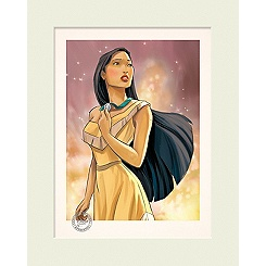 Limited Edition Pocahontas Gallery Print