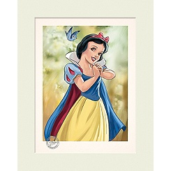 Limited Edition Snow White Gallery Print