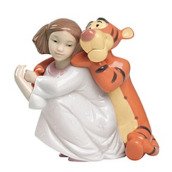 Disney NAO by LLadro Hugs With Tigger Figurine