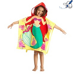 The Little Mermaid Hooded Towel