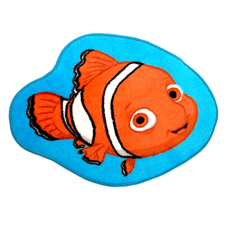 new disney finding nemo bath mat rug bathroom fish seaside