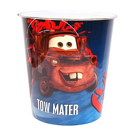 Disney Pixar Cars Waste Bin