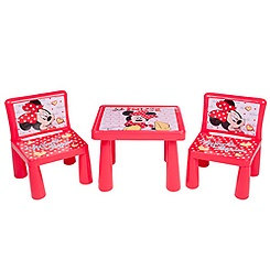 Minnie Mouse Table and Chairs Set