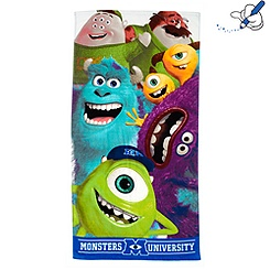 Monsters University Beach Towel