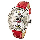 Ingersoll Classic Time Collection Minnie Mouse Red Strap Watch