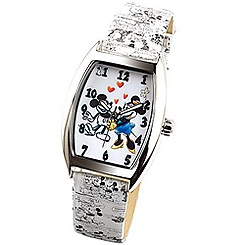 Ingersoll Classic Time Collection Mickey & Minnie Mouse Tonneau Watch
