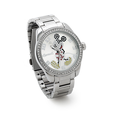 Ingersoll Classic Time Collection Mickey Mouse Diamante Bracelet Watch.