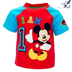 Mickey Mouse 'I Am 1' T-Shirt For Kids
