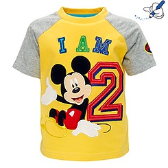 Mickey Mouse 'I Am 2' T-Shirt For Kids