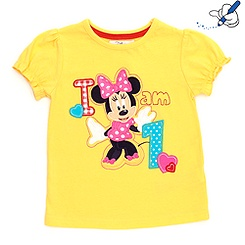 Minnie Mouse Age 1 T-Shirt For Kids
