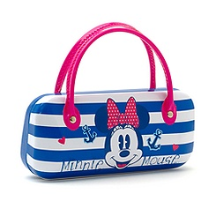 Minnie Mouse Nautical Sunglasses Case