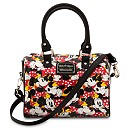 Minnie Mouse Duffel Crossbody Bag by Loungefly