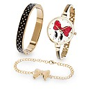 Minnie Mouse Signature Watch, Bracelet and Bangle Set