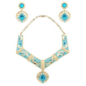 Pocahontas Necklace And Earrings Set