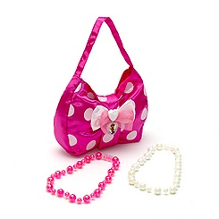 Minnie Mouse Bow-tique Bag and Jewellery Set
