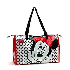 Minnie Mouse Zip Up Reusable Shopping Bag