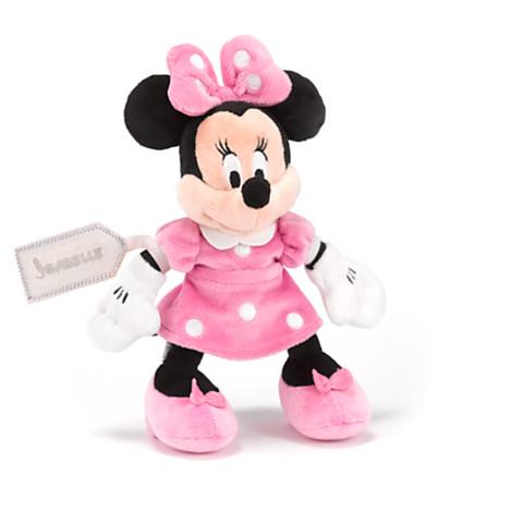 Minnie mouse mini bean bag soft toy soft toys disney store - Casa de minnie mouse ...