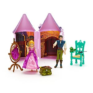 Tangled Rapunzel Mini Castle Playset