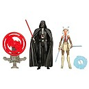 Star Wars 3.75'' Figure 2 Pack, Space Mission Darth Vader and Ahsoka Tano