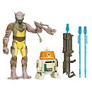 Star Wars 3.75'' Figure 2 Pack Forest Mission Garazeb Orrelios and C1-10P