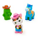Sheriff Callie's Wild West Bath Toy Set