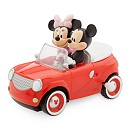 Mickey And Minnie Mouse Wind-Up Car Toy