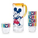 Mickey Mouse Pitcher Set, 5 Cups, Summer Fun Collection