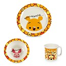 Winnie the Pooh and Friends Melamine Plate, Bowl and Cup Set