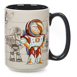 Buzz Lightyear Concept Art Mug, Toy Story - Buzz Lightyear Gifts
