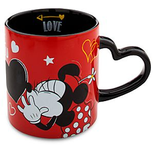 Minnie Mouse Chalkboard Love Mug