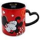 Minnie Mouse Chalkboard Love Mug