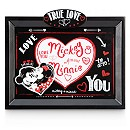 Mickey And Minnie Mouse Love Frame