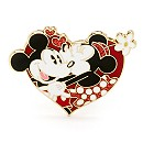 Mickey And Minnie Mouse Valentine's Day Limited Edition Pin