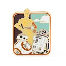 Star Wars: The Force Awakens Limited Edition Droids Pin