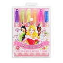 Disney Princess Scented Glitter Gel Pens, Set of 6