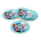 Frozen Party Plates, Set of 8