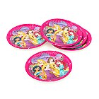 Disney Princess Party Plates, Set of 8