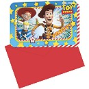 Toy Story Party Invitations, Set of 6